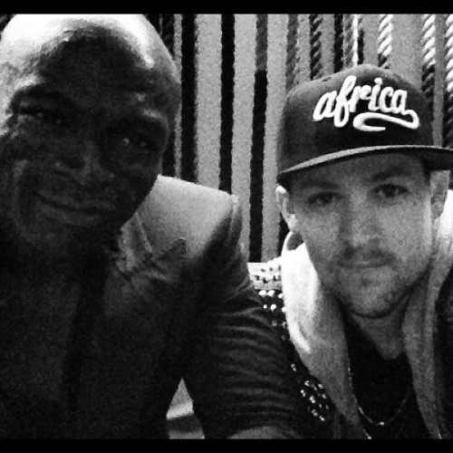 Me and  @seal dinner in Sydney, we bout that life  (Taken with instagram)