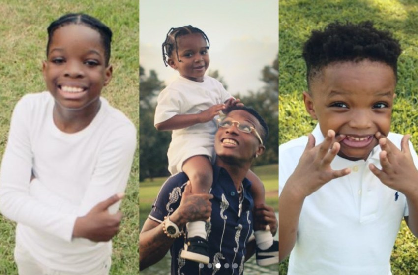 Wizkid Gives His Children A Lovely Tribute.(See How)