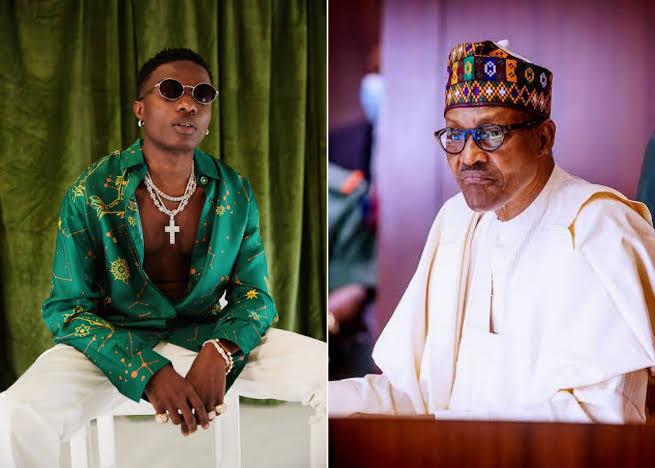 """Donald Trump is not your business! Old Man! – Wizkid blasts President Buhari"