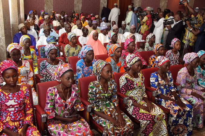 BREAKING: Several Chibok Girls Reunited With Their Families After Escaping From Boko Haram Custody.