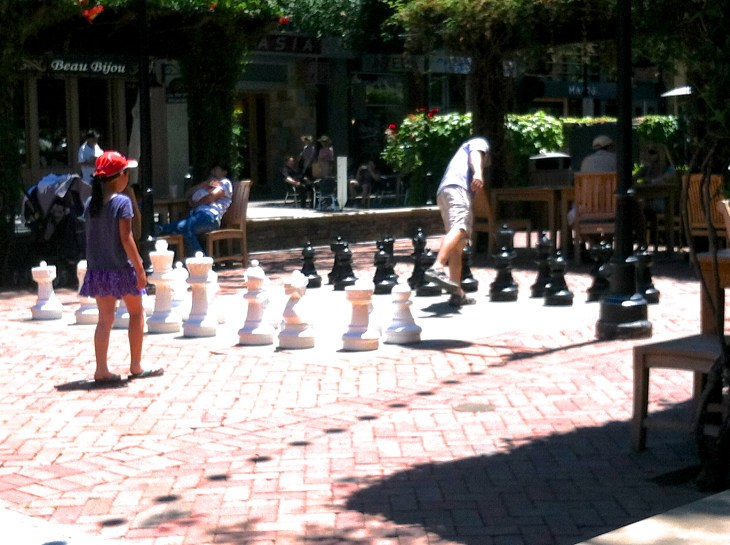 Giant Chess Board - San Jose