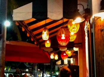 Espanola way - plenty of lively bars and restaurants