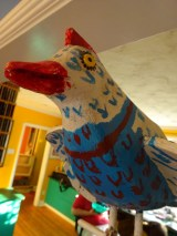 Quebec bird face