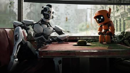 『ラブ、デス&ロボット(Love,Death & Robots)』「ロボット・トリオ(THREE ROBOTS)」(12分)