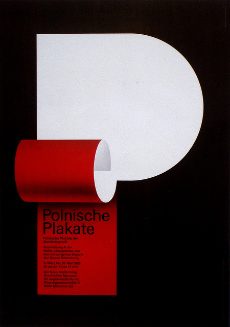 poster design byPierre Mendell c. 1986from the book Posters by Members of the Alliance Graphique Internationale 1960-1985 (first discovered via @roundmyskull viaSam Smith)