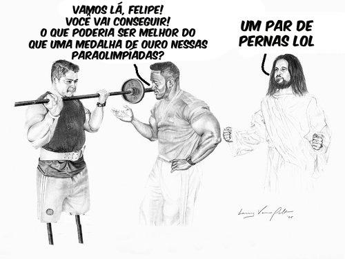 PORRA, JESUS!!! SEU FILHO DA PUTA!