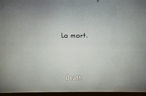 la mort - death
