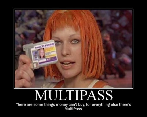 Multipass. link 20 notes comments · #nonTrek #The 5th Element