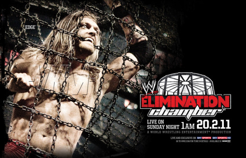 Poster - Elimination Chamber 2011
