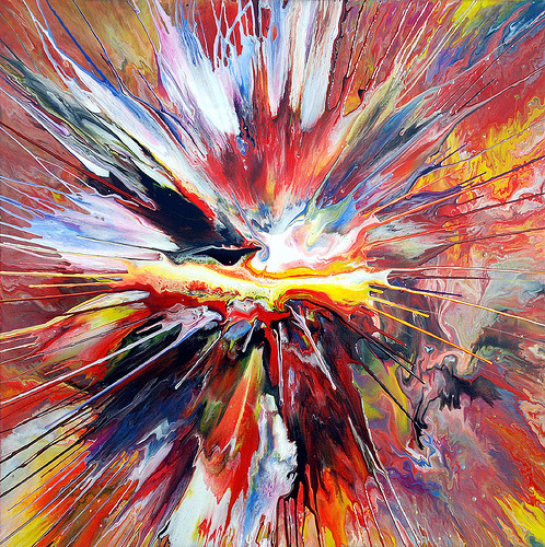 surgeries:  Liquid Explosion Painting! (by markchadwickart)