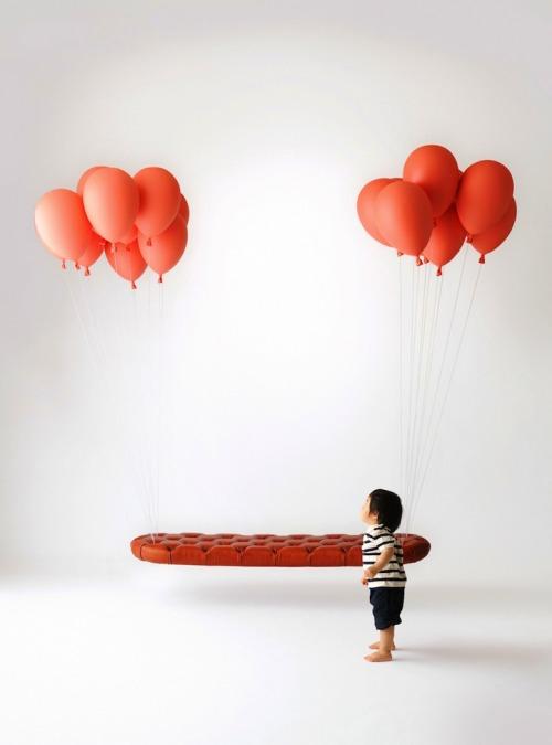 balloon bench by Satoshi Itasaka and Takuto Usami (h220430)
