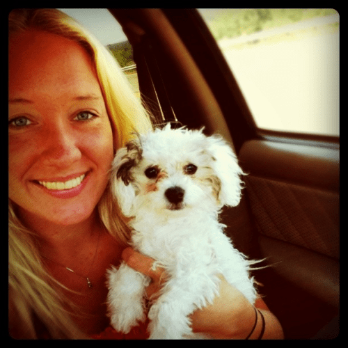 My pup and me :)
