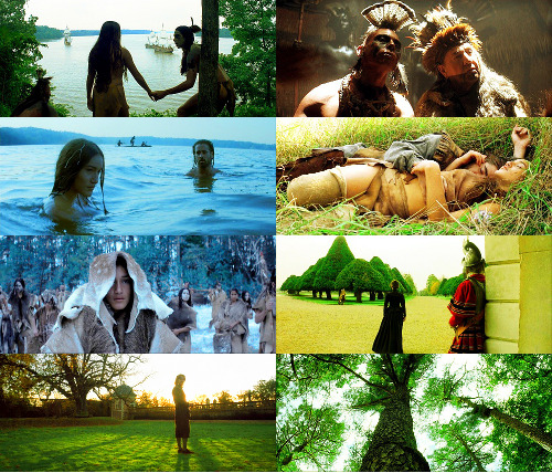 You flow through me, like a river. (The New World, 2005)