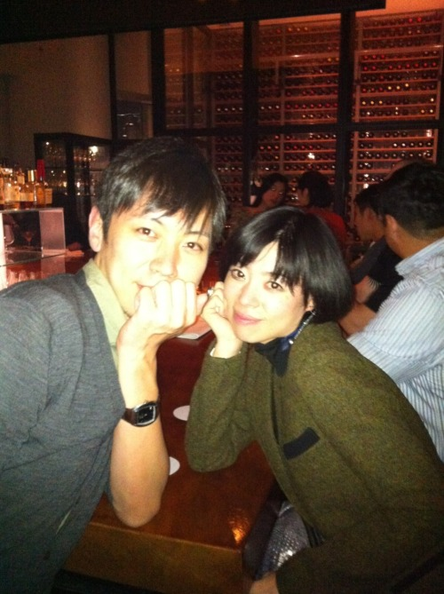 Tomo and Hono at Two Rooms Omotesando