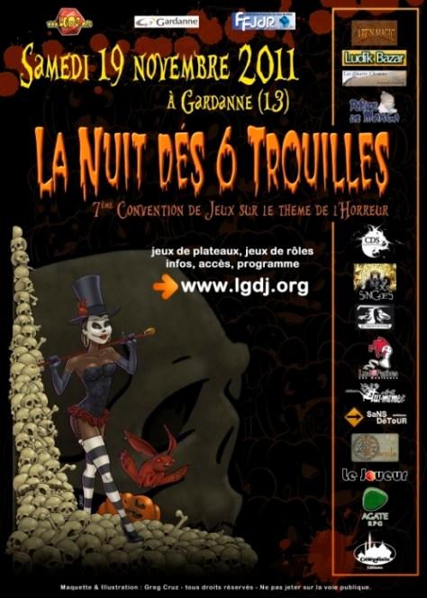 Convention 7ème Nuit dés 6 trouilles à Gardanne