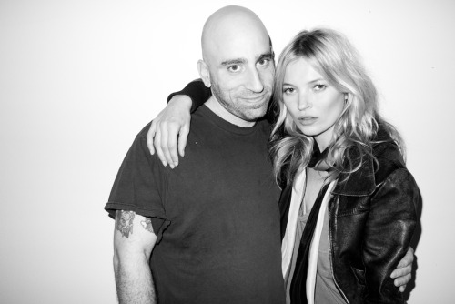 Seth Goldfarb and Kate Moss