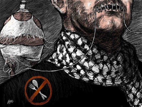 "thepalestineyoudontknow:</p><br /><br /> <p>1600 Detainees To Declare Hunger-Strike on April 17<br /><br /><br /> 1600 Palestinian political prisoners, held by Israel, declared they will be starting an open-ended hunger strike on April 17th in protest to their illegal detention, and demanding basic rights.<br /><br /><br /> Palestinian Minister of Detainees in the West Bank, Issa Qaraqe', stated that the situation of the detainees in Israeli prisons is very difficult, and dangerous, especially amidst the ongoing Israeli violations and attacks against them. Qaraqe' added that the detainees are fighting a battle to defend their dignity and to improve their living conditions. He further called for massive solidarity campaigns, and called for declaring April 17, the Palestinian Prisoners Day, as a day for solidarity and massive nonviolent protests in all parts of the occupied territories. The Maan News Agency reported that a committee formed by the Israeli Prison Authority, headed by Yitzhak Gabai, visited a number of detention facilities, listened to the demands of the detainees, and ""promised"" respond to these demands this coming week. Some of the demands presented by the detainees are; 1. Ending Administrative Detention.2. Ending Solitary Confinement.3. Reinstating the right to education.4. Halting all invasions targeting detainees' rooms and sections.5. Allowing family visitations, especially to detainees from the Gaza Strip. 6. Improving medical care to ailing detainees. 7. Halting the humiliation, and body-search of the families of the detainees.8. Allowing the entry of books and newspapers. 9. Halting all sorts of penalties against the detainees.Palestinian detainees in Israeli prisons are subject to harsh and illegal treatment that violates International Law and the Fourth Geneva Convention to which Israel is a signatory.The Palestinians started marking April 17 as the Palestinian Prisoners Day, on April 17, 1974, the day Israel released Mahmoud Bakr Hijazi, in the first ever prisoner-swap deal.202 Palestinian detainees died after being kidnapped by the Israeli forces since 1967, following Israel's occupation to the rest of Palestine (The West Bank, the Gaza Strip, East Jerusalem, and the Golan Heights).Hundreds of detainees died after they were released suffering from serious illnesses and medical conditions resulting from extreme torture and abuse in Israeli prisons.70 detainees died in prison due to extreme torture, 74 were executed by the soldiers after being arrested, 51 died due to the lack of medical treatment, 7 detainees died due to excessive force by the soldiers, and after being shot while in prison, former political prisoner, head of the census department at the Ministry of Detainees, Abdul-Nasser Farawna reported.(x)<br /><br /><br /> Four hunger striking prisoners now in hospital(x)<br /><br /><br />"