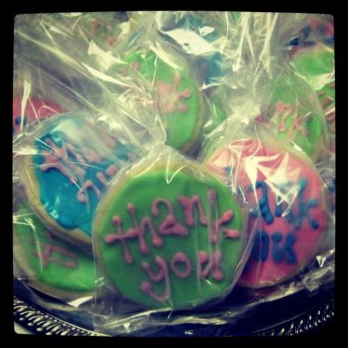 thank you cookies, teacher appreciation, teacher gifts