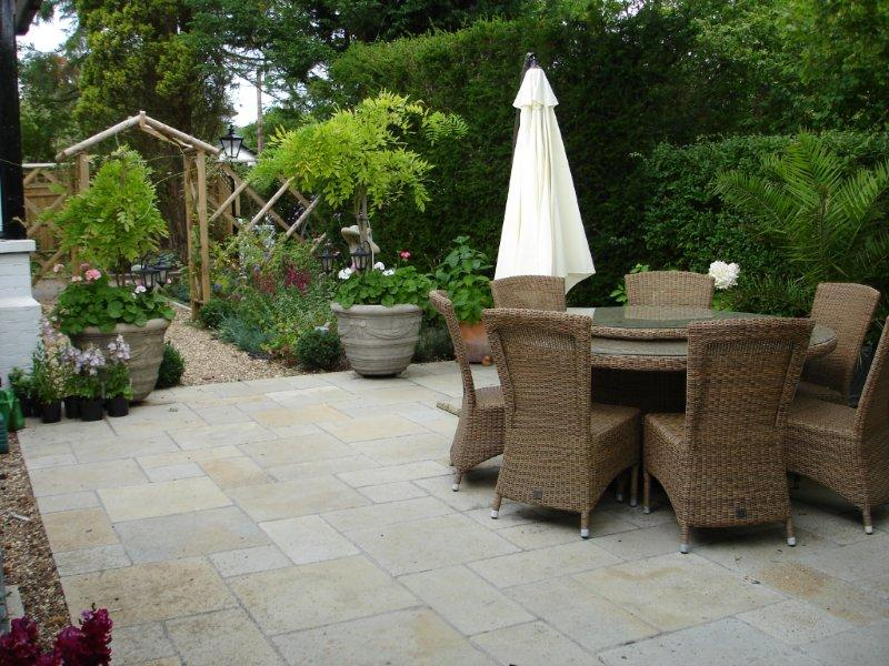 Thinking about a new patio? Some tips from a patio designer... on Courtyard Patio Ideas id=94288