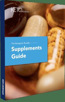 Bonus #3 Keto Supplement Guide cover