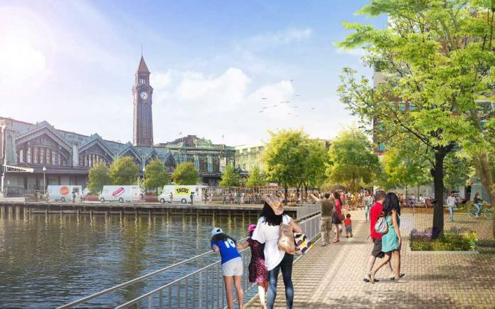 Hoboken Yard Redevelopment Plan 6