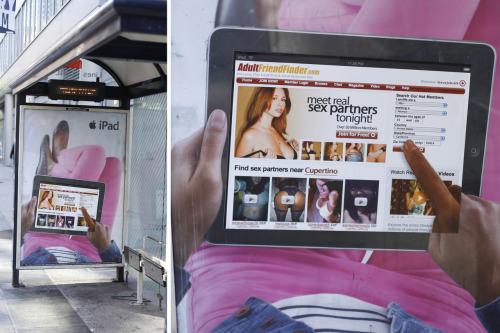 Publicidad boicoteada de iPad