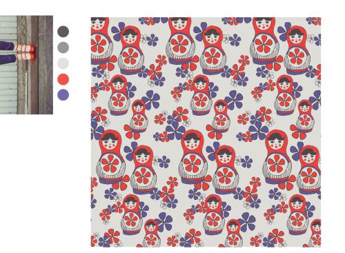pattern 16 - LITTLE LADIES