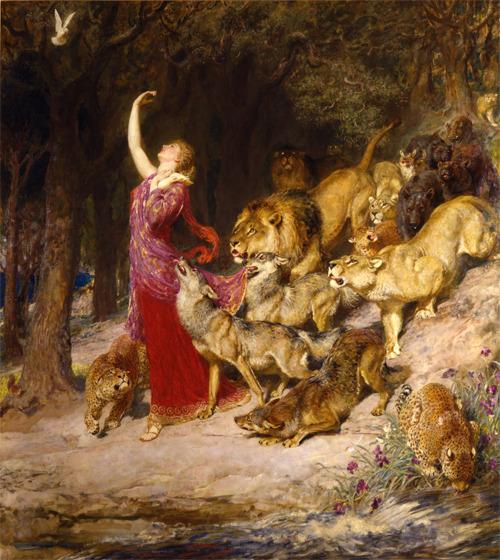 classicwood:</p><p>Aphrodite by Briton Riviere<br />