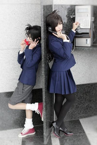 COSPLAY: Conan Edogawa + Ran Mouri / Meitantei Conan