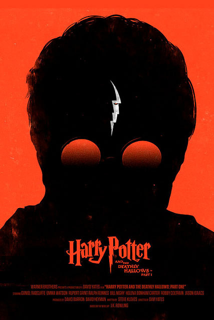 Harry Potter and the Deathly Hallows - Part 1 Illustration for Empire Magazine.