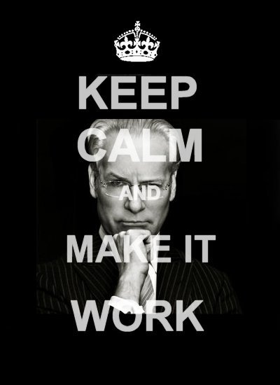"Every designer should have this poster. Tim Gun from ""Project Runway"" This is my motto for the rest of the semester…"