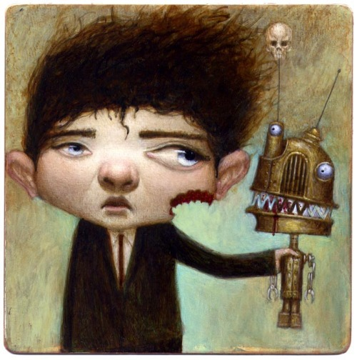 "Artist: Bill Carman, ""Build Your Own Carnivorous Bot"""