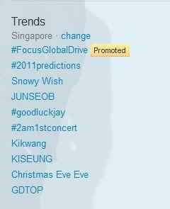 Keep trending #2AM1stConcert in Twitter :)  jokwonfacts:  Trending in Singapore :) #2AM1stconcert