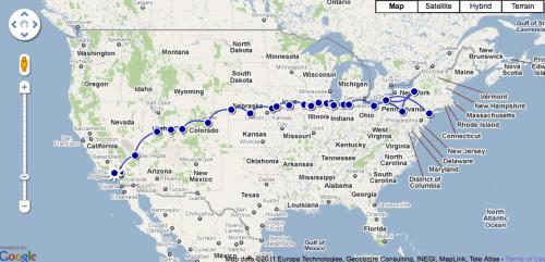Los Angeles To New York City Roadtrip 2010 ̘¤ëŒì§€ ͂¤ìŠ¤