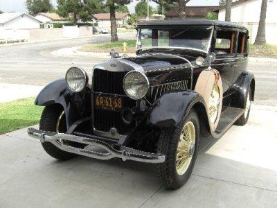 1929Lincoln5 Passenger Sedan