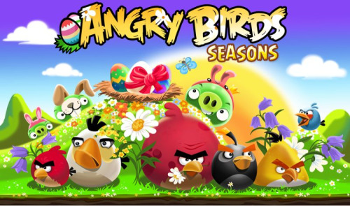 Angry Birds Seasons new Easter update! 18 new levels and more golden eggs!