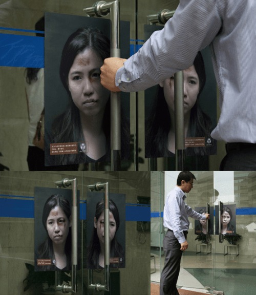 campaign to stop domestic violence in China