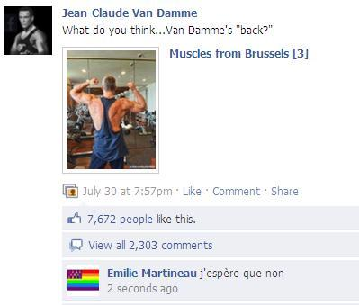 Jean-Claude Van Damme Lol avec les stars Starsystemilie make it bright