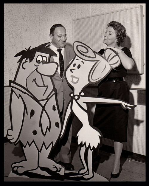 Alan Reed and Jean Van Der Pyl - The voices of Fred & Wilma Flintstone…