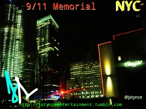 9/11 Memorial Photoset. Click the picture to view the Memorial from different angles. This photoset will be updated periodically to show you the most recent changes, bought to you by J Stynze Photography, @jstynze And Always YOUTUBE jstynze718 Tu Sabe You Don Now