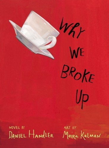 Book Review: Why We Broke Up by Daniel Handler</p> <p>Min and Ed are breaking up. When Min is finally ready to part with all the things that remind her of Ed, she does so by dropping off a box with a letter explaining that the items in the box are why they broke up. As Min recounts their doomed relationships in this letter, we are brought back to when she first met Ed at her friend's bitter sixteen party. Co-captain of the basketball team, everyone knows Ed but no one ever imagined that he would date someone like Min, who is obsessed with old films and described as arty. Ed tells Min that she's unlike any girl he's ever dated, and Ed is certainly different from anyone else Min knows. As the two fall in love, they forget their differences and feel like anything is possible. A trip to the movies can turn into the two following the film's star. A secluded area in a park can be a magical place of their own. In the end, Min wasn't so different from the other girls Ed has been with; she's left only with a broken heart and a box full of memories. </p> <p>I bought this book on a whim with my Christmas money on Boxing Day, since hardcover books were discounted. Why We Broke Up is by Daniel Handler, who also wrote A Series of Unfortunate Events under the name Lemony Snicket. This story, as the title indicates, is about a couple breaking up and all the events that lead up to that, beginning when they first meet. At the beginning I was concerned with the narrator's voice. Min is supposed to be writing her heart out in a letter to her ex, so there are quite a few run on sentences. I was soon able to look past this and get caught up in the story. I was also initially worried that this book would be too angst ridden, but that didn't end up bothering me at all. The best thing about Why We Broke Up is how it seemed to perfectly capture high school relationships. Ed and Min felt very real, especially since we were shown the good and bad of their relationship. While there are many reasons why Min and Ed broke up, we also get to see the reasons they are together. Handler wrote a teenage relationship that rings true, although I wonder if this book is better for the cynical, rather than the idealistic. While the relationship at the centre of the novel felt accurate, Min didn't read like a teenage girl. Despite this, I still enjoyed her narration overall. While the plot is simple and focuses entirely on Min and Ed, it still managed to be engaging and interesting. The illustrations by Maira Kalman have an important role in this book, since each chapter begins with a picture of the corresponding item. Who was it exactly who decided that illustrations are mainly for children's books? I love pictures in books, especially ones as pretty as Kalman's. I especially like the roses on the book's cover when jacketless. While the premise for this book might sound rather simple, it was actually a creative and enjoyable read. Why We Broke Up is not only intimate and poignant look at Min's first major breakup; it is also a coming of age story. Even though anyone who has read the title knows how this one is going to end, I enjoyed being taken through Ed and Min's ill fated relationship. </p> <p>4/5</p> <p>&#8220;There are no stars in my life.&#8221;