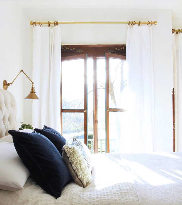 the best white curtains hint they are
