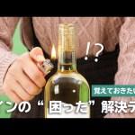 【Onnela攻めます】ワインのコルクが開かない!解決テクを実験してみた