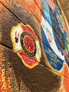 Handpainted Mural Unveiling Represents Jefferson Township Community Organizations & Landmarks