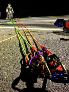 Training Around Town: Low Angle Rope Rescue Training Helps Firefighters Prepare