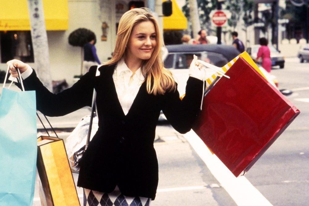Image result for cher shopping clueless