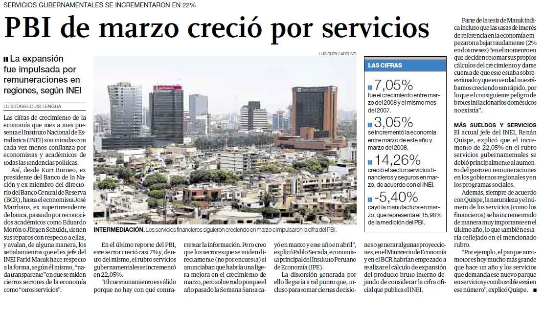 El Comercio (19-V-09)