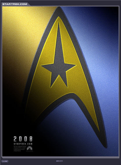 star trek 11 poster
