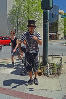 Juggler in Asheville