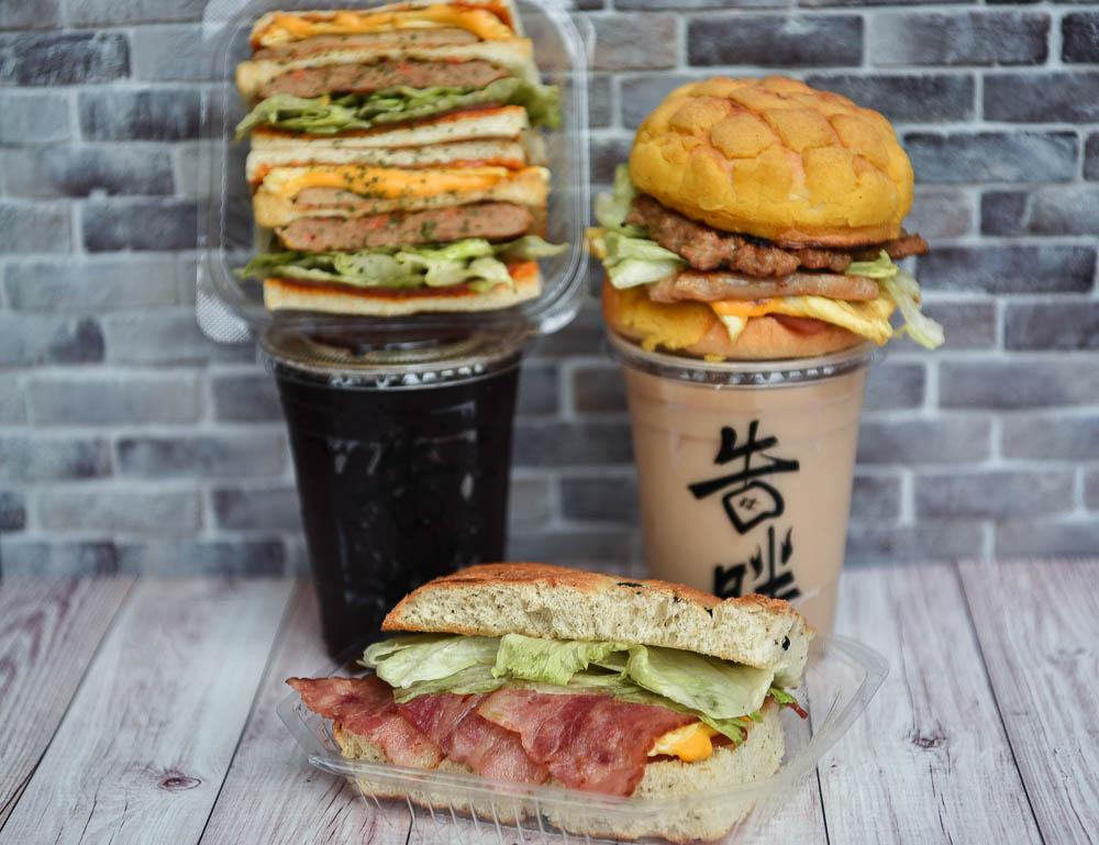 告胖早午餐(告胖碳烤土司):台中沙鹿區美食-靜宜商圈CP值超高的大份量手作美味菠蘿堡!